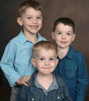 Caleb, Logan & James